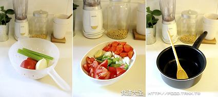 蔬菜濃湯做法1