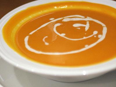奶油南瓜湯