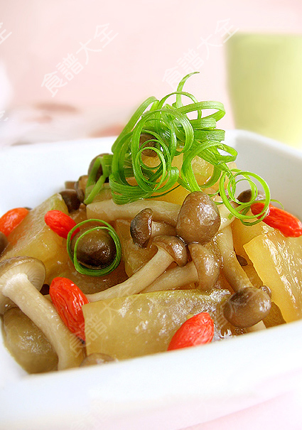 鴻喜菇燒冬瓜