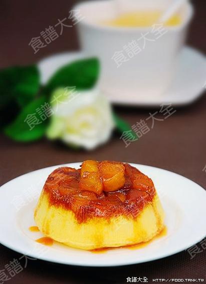 焦糖蘋果蛋糕