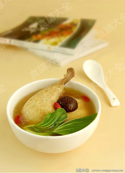 補元氣-香菇雞湯