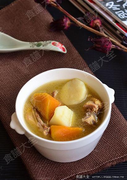 南瓜山藥雞湯
