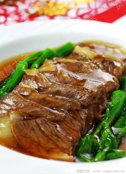紅扒牛肉條