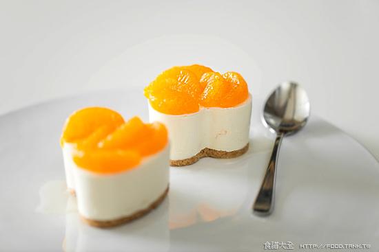 香橙蜜桔凍起士蛋糕