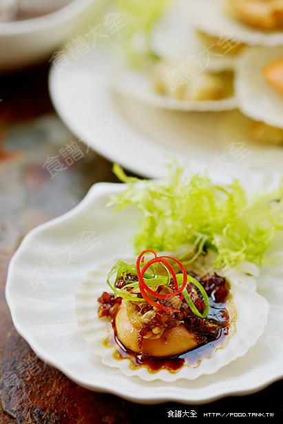 蒜香燒汁蝦夷貝