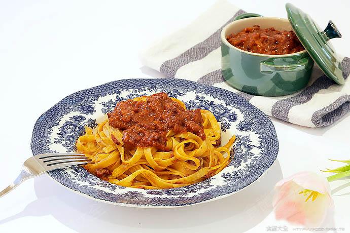 正宗道地的意大利肉醬麵