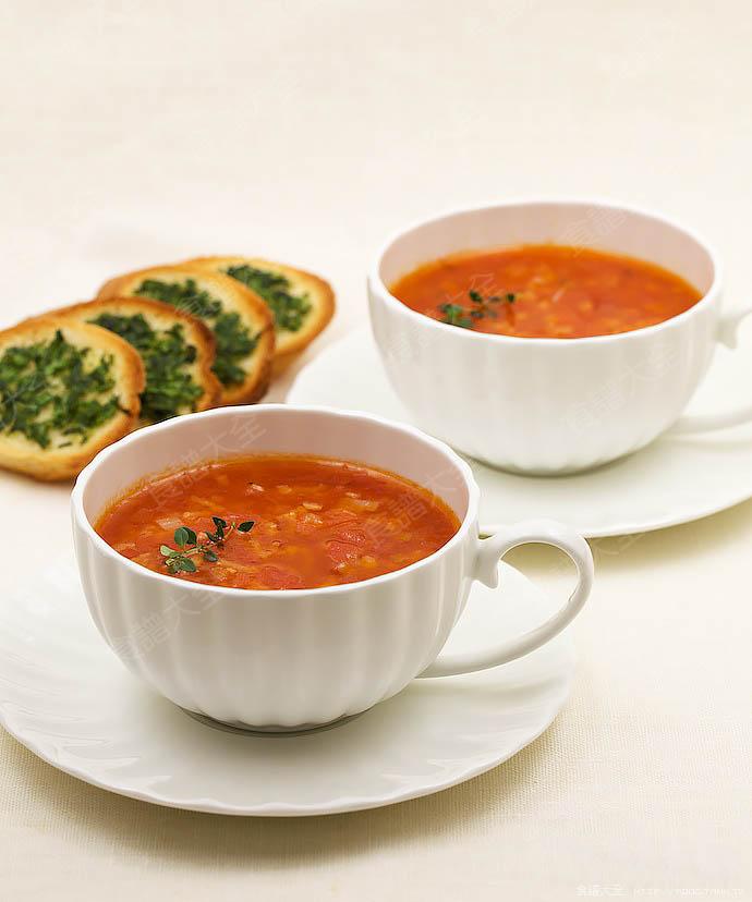普羅旺斯番茄濃湯