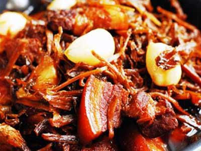 梅乾菜燒肉