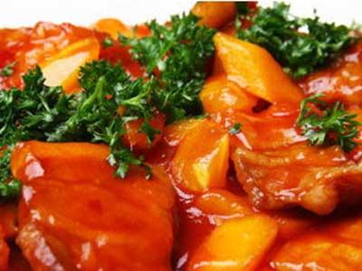 泰汁木瓜酥肉