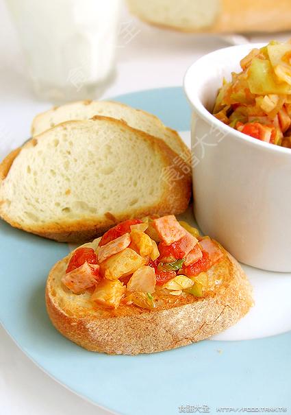 意式番茄炒蔬菜