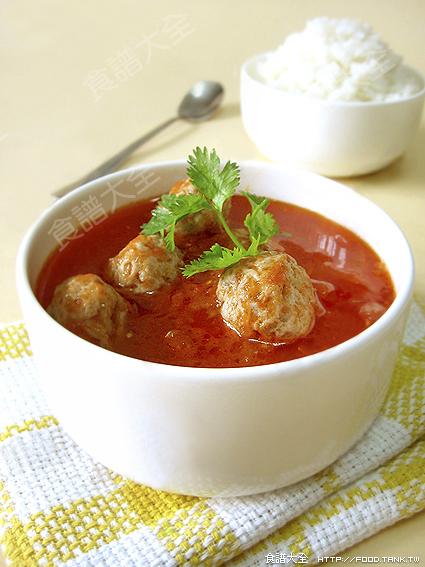 茄汁小肉圓