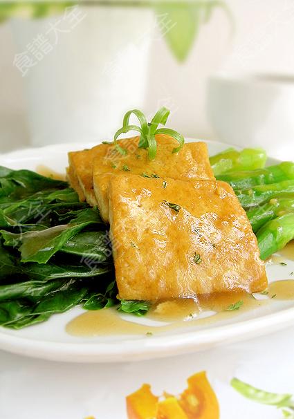 薑汁芥藍豆腐