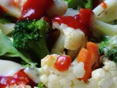 乳酪焗蔬菜