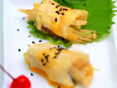 金針菇橙味魚卷