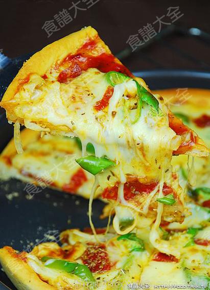 意式米香腸比薩