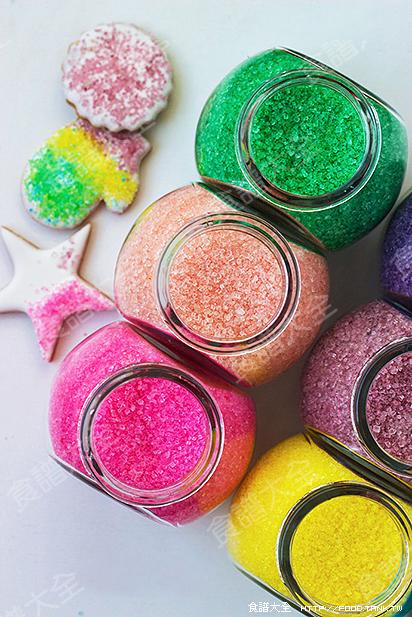 炫彩裝飾砂糖