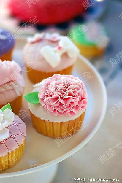 翻糖蛋糕 cupcake