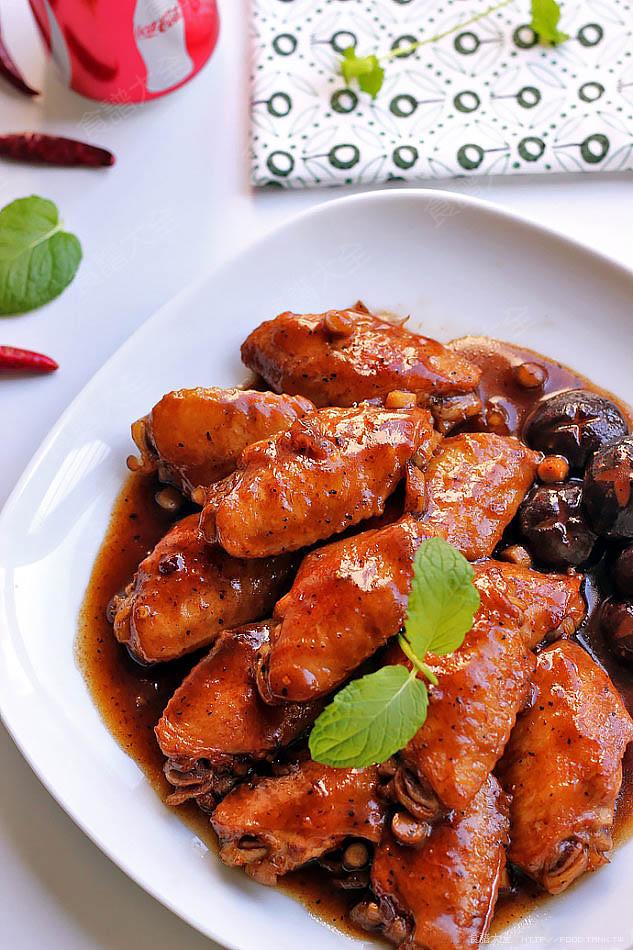 黑胡椒可樂雞翅