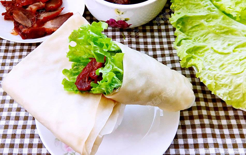 萵苣生菜燒肉卷