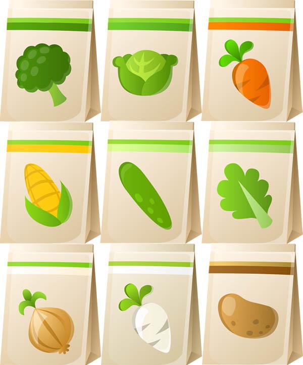 廚房常見的蔬菜食材