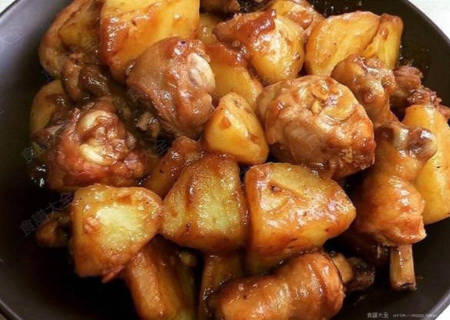 馬鈴薯燜雞腿