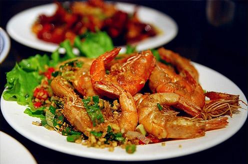 鹽酥蝦 2