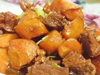 胡蘿蔔燒牛肉