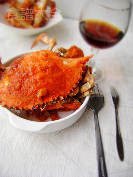 風味茄汁蟹