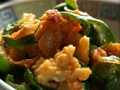 朝鮮風青椒炒蛋