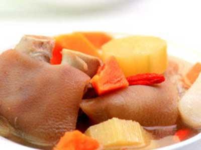 甘蔗木瓜豬腳湯