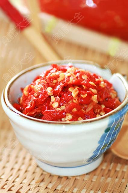 自製香辣剁椒醬
