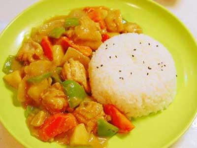 椰香咖喱雞