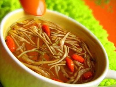 金銀花枸杞湯