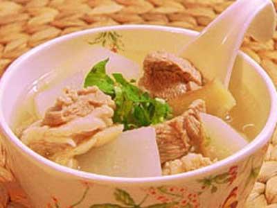 蘿蔔羊肉湯