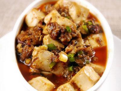 蒜香麻辣豆腐