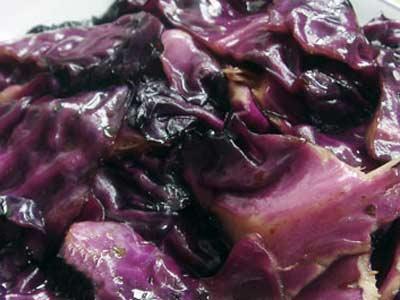 小炒紫甘藍
