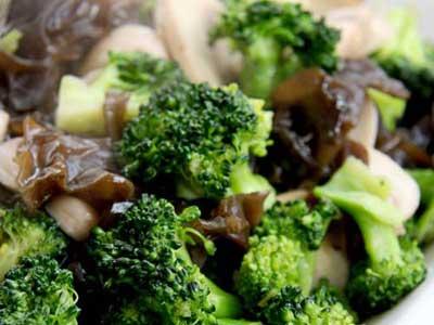 蘑菇青花菜