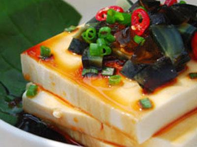 醬油拌豆腐